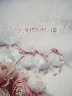 Μπομπονιέρα Γάμου Δαντέλα & Σατέν - Bonboniera Handmade Wedding, Valentines Day Weddings, Mariage, Weddings, Marriage, Casamento, Chartreuse Wedding