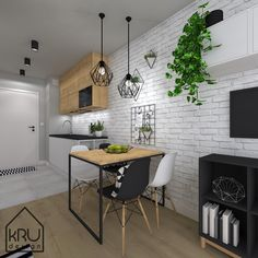Flat Ideas, Interior Photography, Bathroom Interior Design, Apartment Interior, Sweet Home, Loft, House Design, Living Room, Kitchen