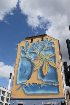 Tree wall in Copenhagen (or more precisely, Frederiksberg), Denmark