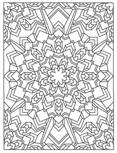 Mandala 625 Creative Haven Madness Coloring Book Dover Publications