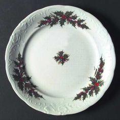 Royal Kent (Poland) Holiday Holly - our Christmas china