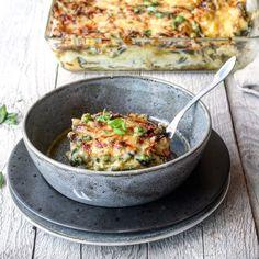 Lasagne med pesto og grønne grønnsaker – Ourkitchenstories