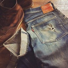 Red Wing and Levi Vintage ⓀⒾⓃⒼⓈⓉⓊⒹⒾⓄⓌⓄⓇⓀⓈ