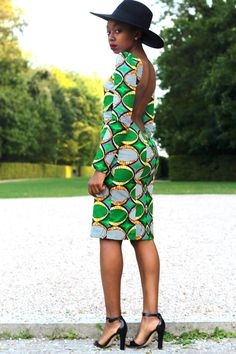 <p>I'd usually wait until the morning to post this, but it's almost too good to wait! My friend recently sent me a link to Ghanaian line Stylista Gh, a brand of African printed dresses with unexpected details. Pencil dresses come equipped with peaked shoulders, bell sleeves, or variegated hems. Bold colors play backdrop to inventive…</p>