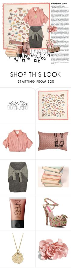 """like a good book"" by immyowndoll ❤ liked on Polyvore featuring Jane Norman, Study, 3.1 Phillip Lim, Pink Mint, NARS Cosmetics, Betsey Johnson, Sondra Roberts, nars orgasm, lady and light pink"