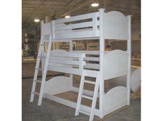 Photo of Bunk Bed B59 with White Paint