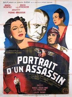 """C'est en 1949 qu'elle fait sa rentrée cinématographique avec """"Portrait d'un Assassin"""" aux côtés de Pierre Brasseur, Erich von Stroheim, Marcel Dalio, Maria Montez et Jules Berry. Malheureusement ce film ne connaîtra pas un grand succès commercial"""