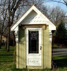 shabby story: shabby garden shed...