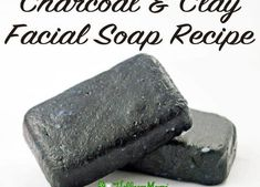 Charcoal & Clay Facial Soap Recipe - Wellness Mama Best Picture For soap pictures For Your Taste You Cold Press Soap Recipes, Homemade Soap Recipes, Homemade Facials, Homemade Scrub, Homemade Beauty, Diy Beauty, Charcoal Face Soap, Activated Charcoal Soap, Soap Making Process