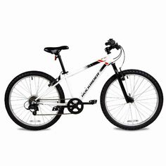 "Menu Other Items Feedbacks About Us Contact Us Add To Favorites Decathlon – Rockrider Mountain Bike ST100, 24″, White, Kids 4'5″ to 4'11"" We've designed this robust, easy-to-use (1 chainring) 24-inch mountain bike for helping kids' to get started with mountain biking. Recommended for 9 to 12-year olds (4'5″ to 4'11""). Our engineers have designed […] Kids Mountain Bikes, Mountain Bicycle, Mountain Biking, Gary Fisher, Decathlon, 12 Year Old, Kids Bicycle, Fixed Gear Bike, Bike Bag"