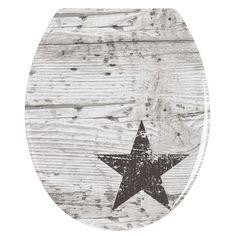 WC-Sitz Star Shabby Chic-Look