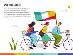 Slack.com redesign — Illustrations 02