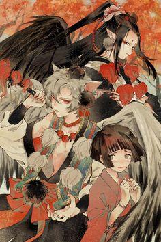 Manga Art, Anime Art, Japanese Artwork, Anime Group, Pretty Art, Comic Artist, Ancient Art, Kawaii Anime, Anime Guys