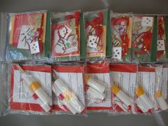 Lucky Bamboo Craft Kits! Materials and embellishments to use with the book in one hands-on package!