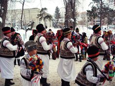 New Year's Traditions and Customs in Romania. Horse Dance, City People, Moldova, Love Affair, Slovenia, Ukraine, Dancing, Wanderlust, Costumes