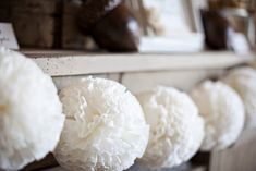 20 Beautiful Coffee Filter Crafts - Coffee Filter Pom Poms
