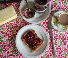Food Lust People Love: Cherry Lemon Jam #SundaySupper