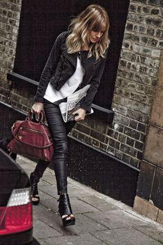Sienna Miller in London