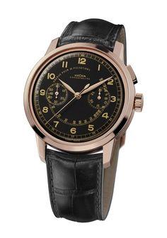 Vulcain - Heritage Monopoussoir Chronograph #bremont Swiss Watchmakers  #horlogerie #vulcain @calibrelondon