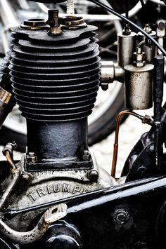 Vieux moteur Triumph