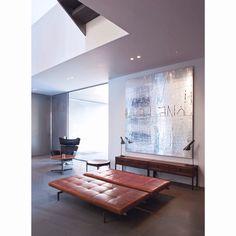 Bild Haus in Genf, Schweiz von Marc Corbiau Architect Indoor Plants: How They Help Us At Home And Wo Interior Desing, Interior Exterior, Interior Inspiration, Interior Architecture, Design Inspiration, Luxury Furniture, Furniture Design, Living Spaces, Living Room