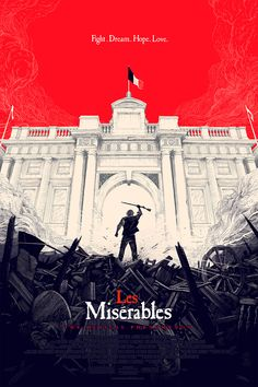BLIMP -  Les Miserables alternative movie poster designed...