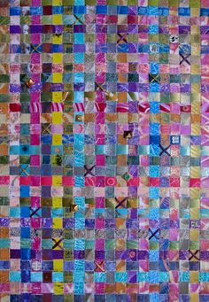 Use your #gelliplate prints to create a woven piece of #art with this bonus demo from Gelli Plate Printing by Joan Bess.