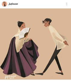 """""""Cariñosa is a Philippine folk dance of Hispanic origin. It is a courtship dance that portrays acts of flirtation between a man and a… Hetalia Philippines, Philippines Culture, Philippine Mythology, Philippine Art, Filipino Art, Filipino Culture, Art Sketches, Art Drawings, Cartoon Edits"""