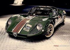 Visit The MACHINE Shop Café... ❤ The Best of Alfa Roméo... ❤ (1967 Alfa Roméo 33 Stradale)