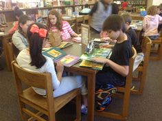 Curtis Elementary Library: Library Centers- list of ideas