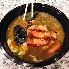 Ramen from @michi_ramen with broth added. #atx #knowatx #austin #austintx #southlamar #SoLa #SoSoLa #food #foodporn #ramen #ramenporn #japanese #michi # by knowatx