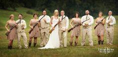 Shotguns at Garrett and Brooke's Wedding | David Blair Photography