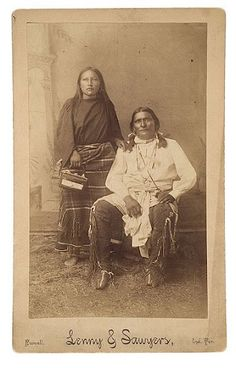 Sun Bow and his wife - Comanche - no date