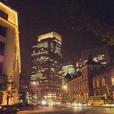 #building #road #night #tokyo
