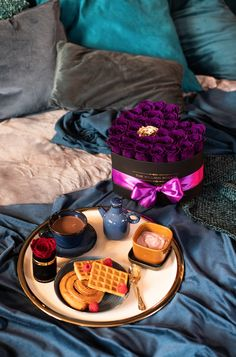 We know not every morning can be breakfast in bed, but our October pick can make it feel that way. Get yours before October ends! Million Roses, Love Box, Preserved Roses, Breakfast In Bed, The Millions, Classic Collection, That Way, October, Flowers