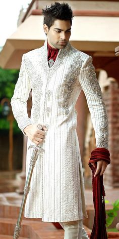 It'd look nicer on my Future Husband if it was shorter and maybe a different color, but it's a great alternative to a traditional tux :)
