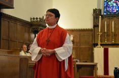 The Rt. Rev. Chilton Knudsen preaches. Photo: Linda Arguedas