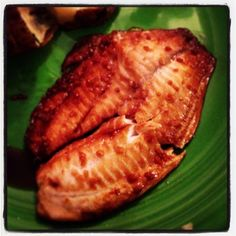 Honey Soy Tilapia - This quick and easy fish recipe is bursting with flavor!