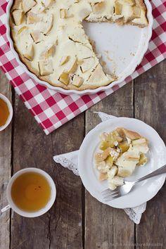 Jugurtti-omenapiirakka spelttipohjalla