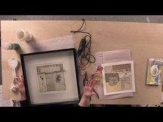 In this video clip, collage artist Crystal Neubauer will teach you how to frame your art and add hanging hardware that meets gallery guidelines.