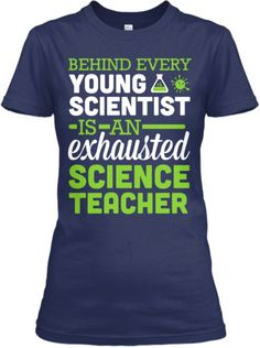 Exhausted Science Teacher | Teespring