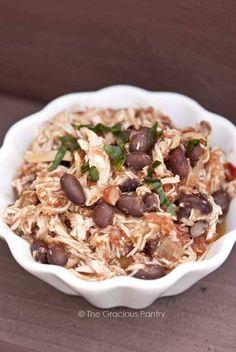 Clean Eating Black Bean Mexican Chicken