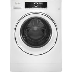 Whirlpool - 2.3 Cu. Ft. Front-Loading Washer - White
