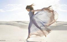 Stock Photo : Goddess of freedom
