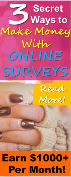 Learn how to make the most money possible from paid surveys! This simple guide will teach you how to save time and earn MORE money from online paid surveys! Thanks for posting these excellent online survey strategies that have helped me make more money online!
