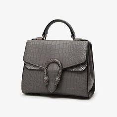 Luxury Handbags Women Bags  Women PU Leather Handbags  Crocodile Shoulder Bag Flap