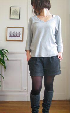 Mercipatrons // Deer and Doe winter shorts