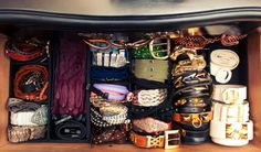 Two Storage Options for Organizing your Belt Collection // Live Simply by Annie