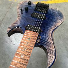 Artic frost finish on a kiesel Vader 7