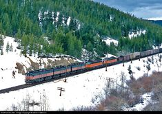MILW Milwaukee Road GE at Pipestone Pass, Montana by Steve Patterson Beyond The Summit, Garden Railroad, Milwaukee Road, Railroad Photography, Continental Divide, Train Pictures, Electric Locomotive, Train Car, Pacific Coast